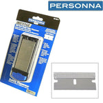 Personna 630070 Regular-Duty Single Edge Razor Blades Dispenser of 100 Blades