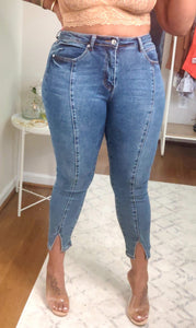 """Split Decision"" Jeans - Ayala V. Collection Women's Apparel Style Shop"