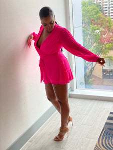 """Loving You More"" Neon Pink Romper - Ayala V. Collection Women's Apparel Style Shop"