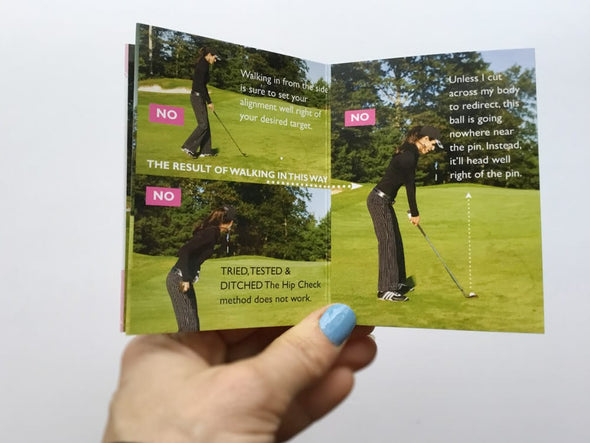 Golf Pocket Guides Around the Green Bad Shot Fixes