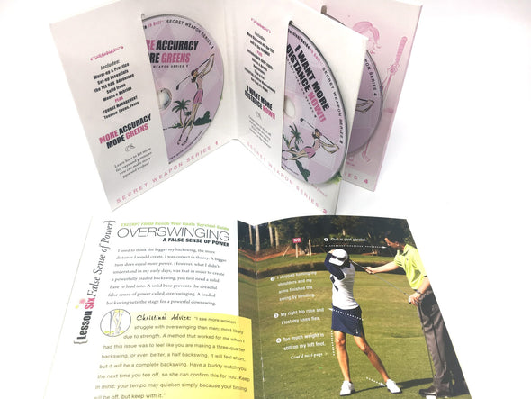 New Golfer Golf Survival Guide with 4-DVD Secret Weapon Series
