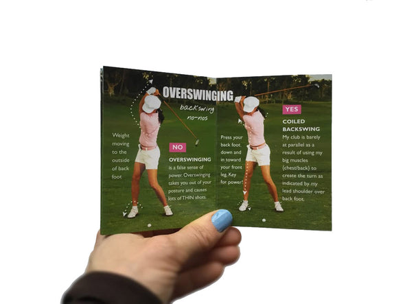 Golf Pocket Guides Get Solid from the Fairway