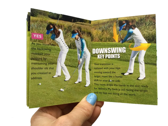 Golf Pocket Guides Key Points on the Fairway