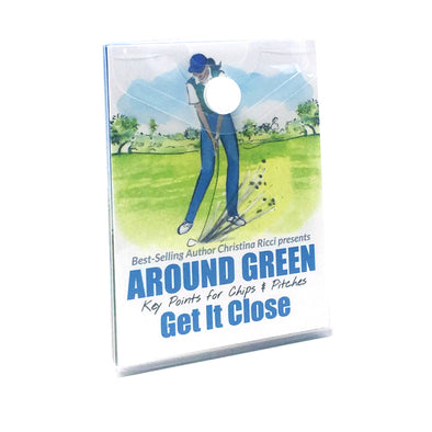 Golf Pocket Guides Around the Green Get It Close