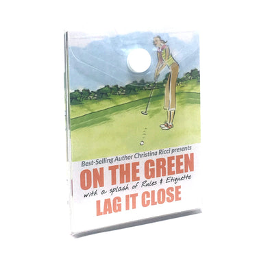 Golf Pocket Guides On the Green Lag It Close