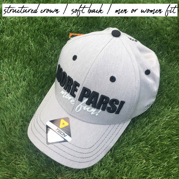 More Pars Gray Cap for men and women