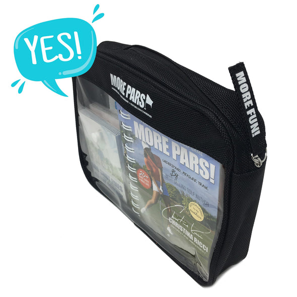 More Pars Zippered Bag