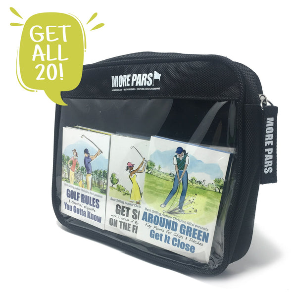 More Pars Pocket Guides with Zippered Pouch Bundle