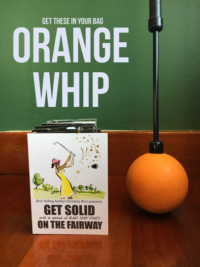 Orange Whip, Wedge & Pocket Guide Trainer Sets
