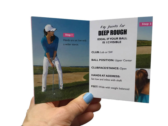 Golf Pocket Guides Rough & Slopes