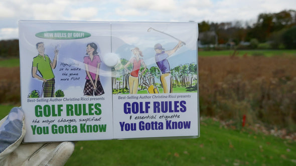 Golf Rules & Etiquette Pocket Guides by Christina Ricci