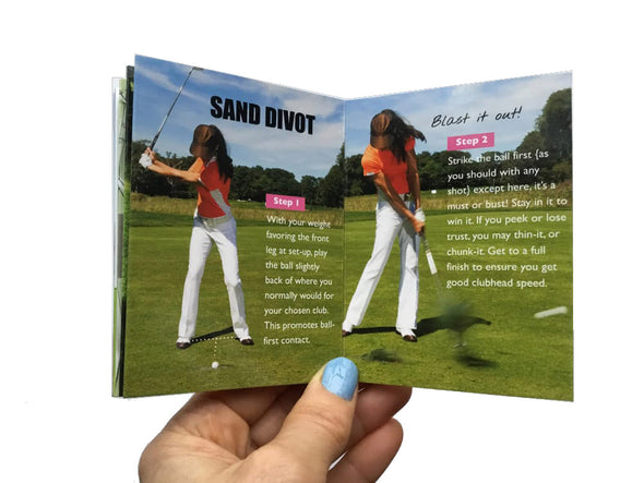 Golf Pocket Guides Uneven Lies