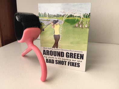 Brace Yourself Chipping Training Aid with Christina Ricci Pocket Guide