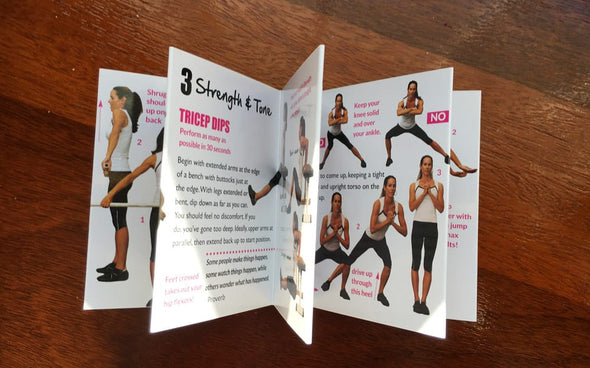 More Pars Fitness Posters & Pocket Guides