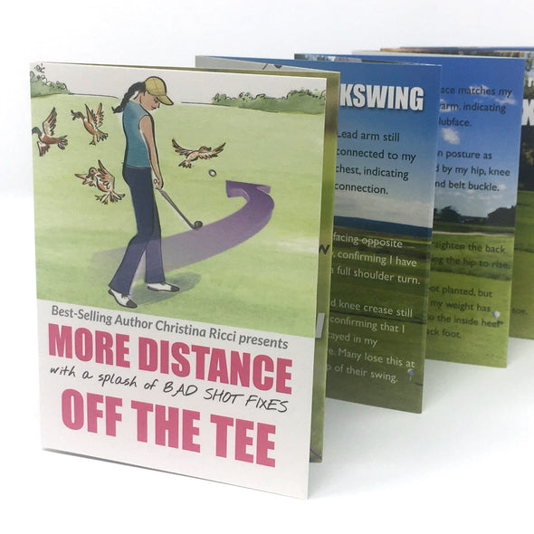 Golf Pocket Guides More Distance Off the Tee