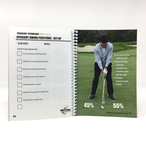 More Pars Long Game Training Booklet + Video Course