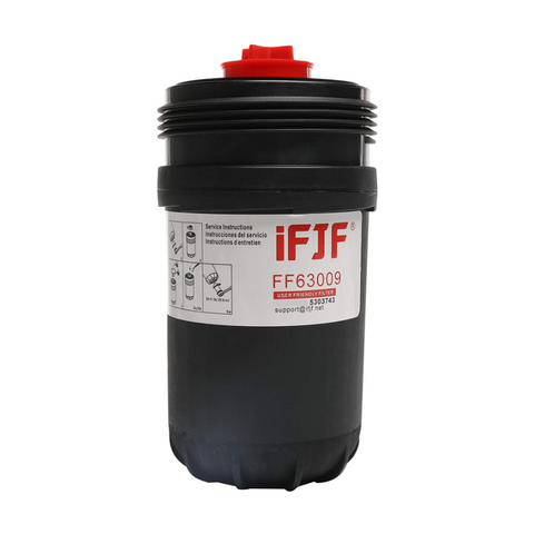 iFJF FF63009 Fuel Filter Replaces Fleetguard Cummins FH22168 5303743 FF63008 FH22168