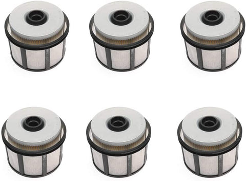 iFJF FD4596 Fuel Filter for Ford  F250 F350 F450 F550 Super Duty 7.3L Powerstroke V8 1999-2003 F81Z9N184AA (Set of 6)