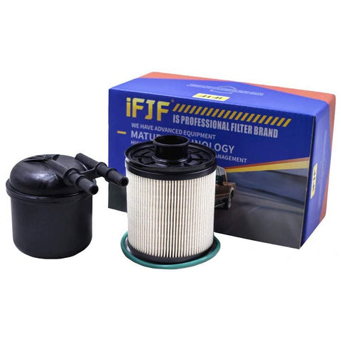 iFJF FD4615 Fuel Filter Water Separator for Ford F-250 F-350 F-450 F-550 Super Duty 6.7L V8 Diesel Powerstroke