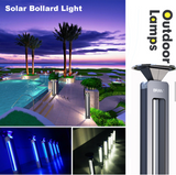 Solar Bollard Light W/Voice control