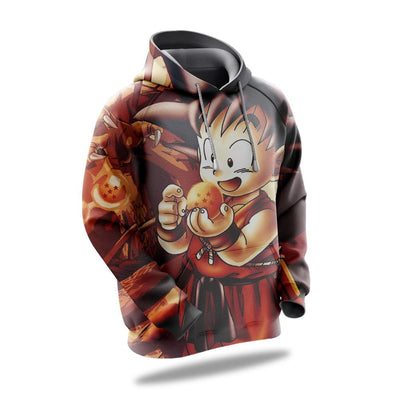 Sweat dragon ball goku pequeno Dragon Ball imagem2