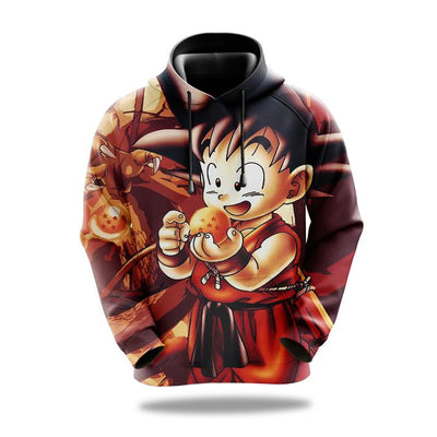 Sweat dragon ball goku pequeno Dragon Ball imagem1