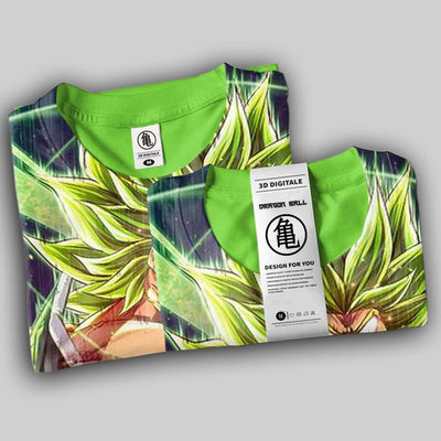camiseta broly super