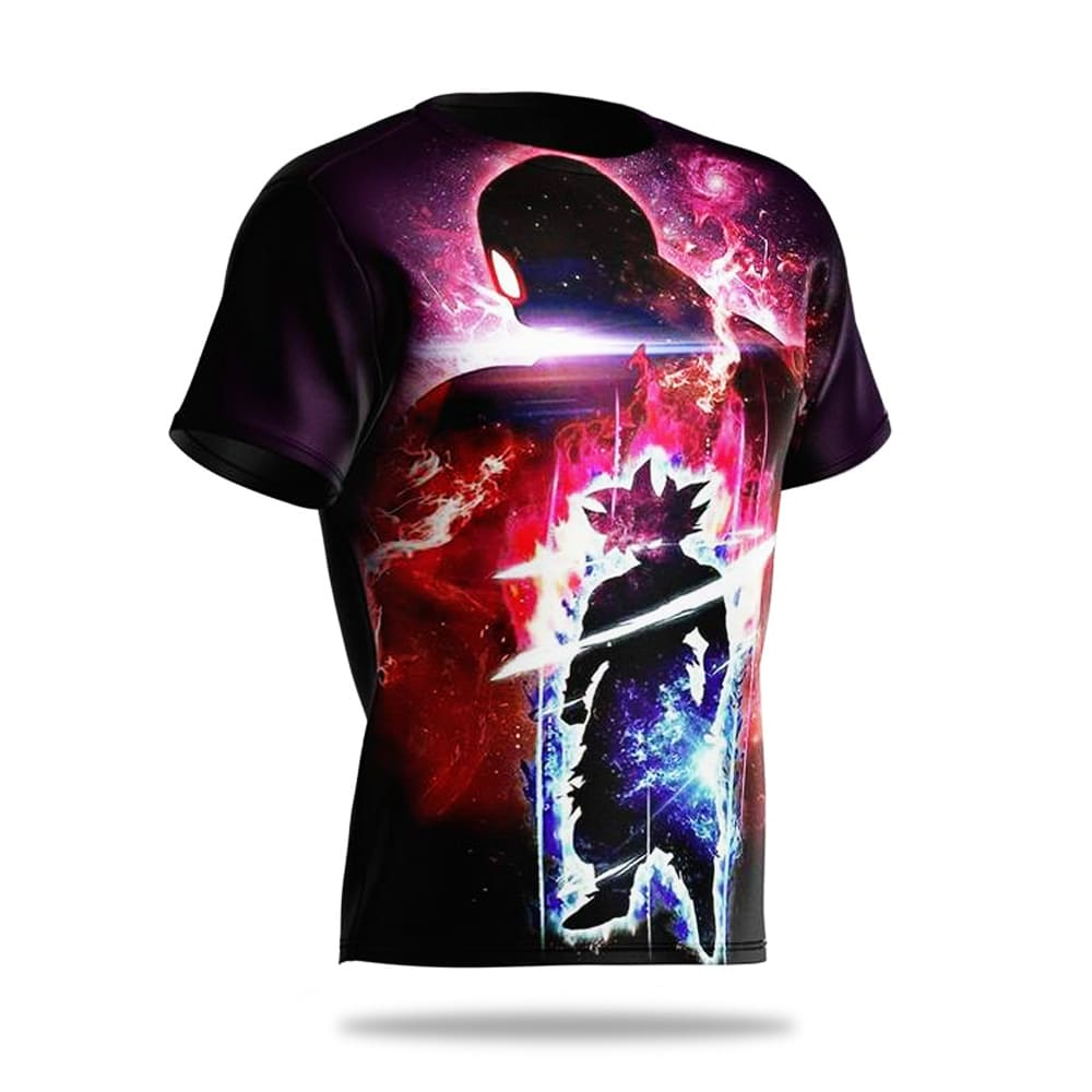 camiseta goku vs jiren