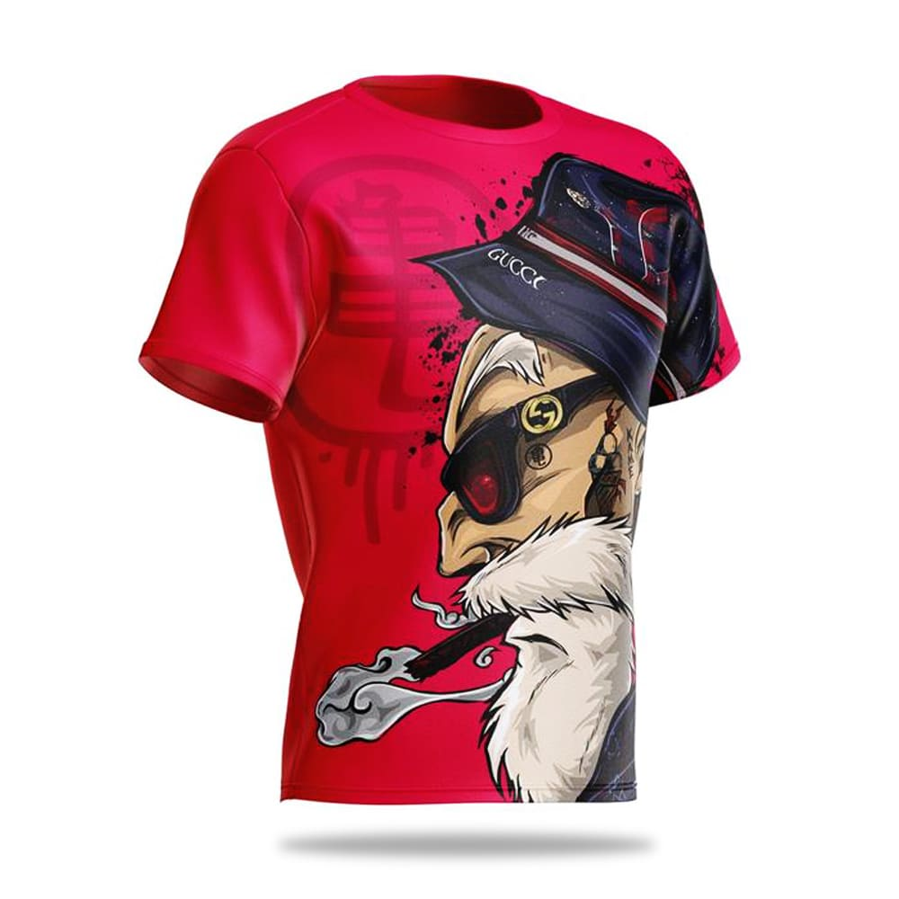 Camiseta Dragon Ball Super Mestre Roshi
