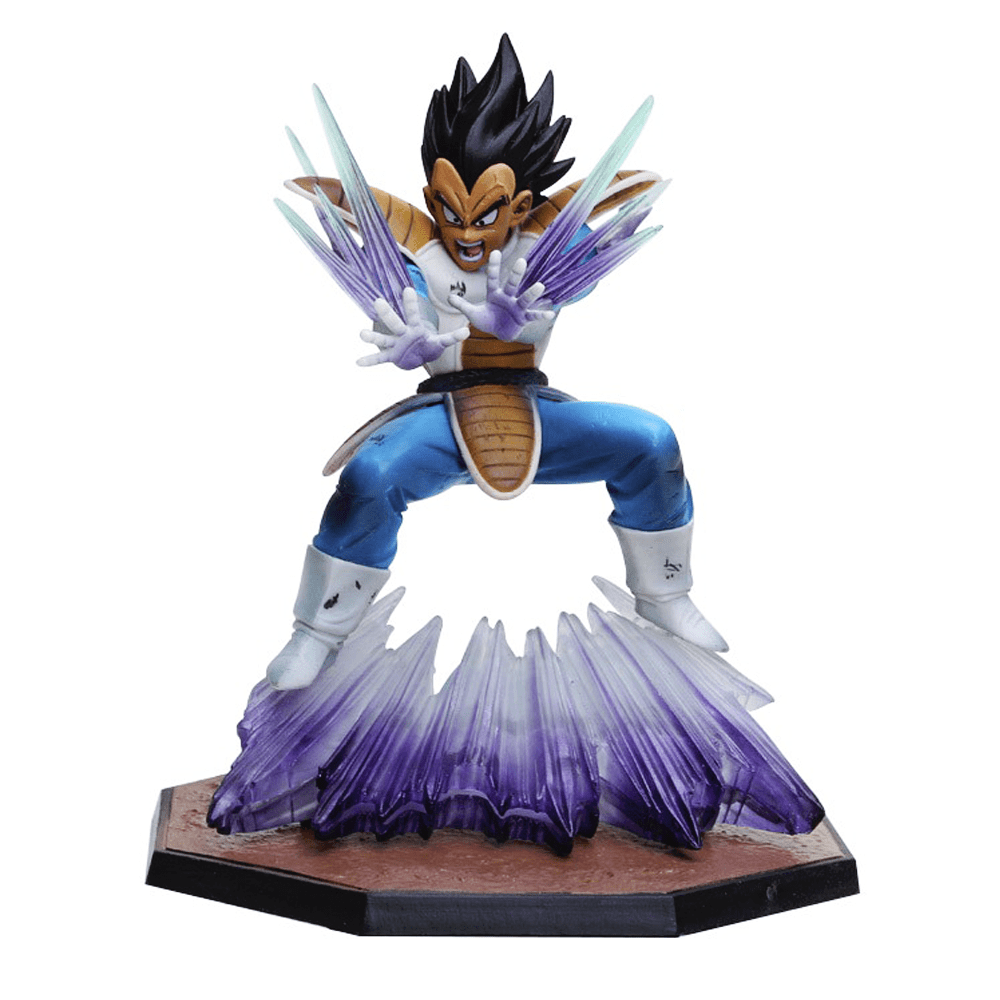 figurina dragon ball vegeta double kikoha imagem