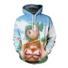 sweat dragon ball marron imagem