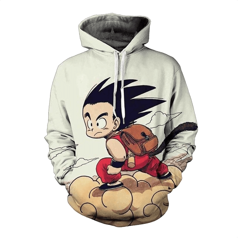 sweat dragon ball nuvem magico