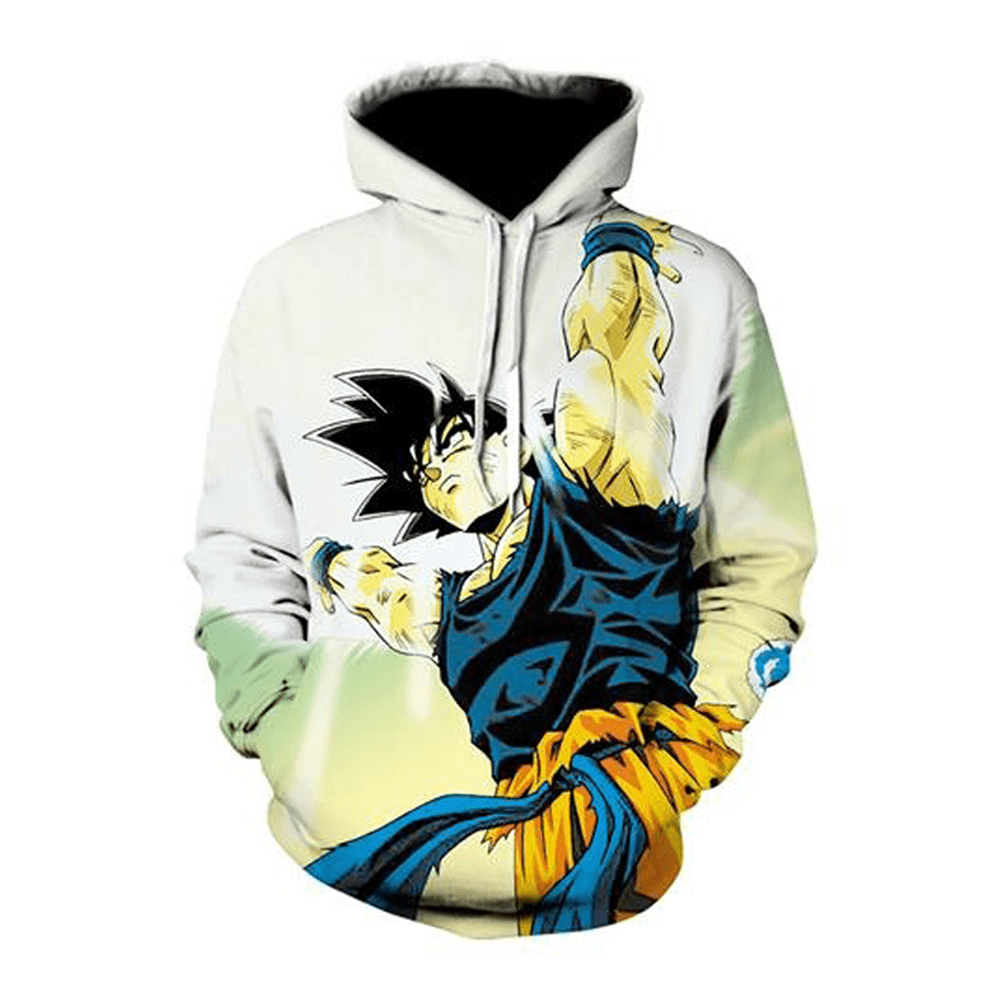 sweat dragon ball z sangoku