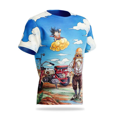 T-shirt Dragon Ball Z Son Goku Péqueño