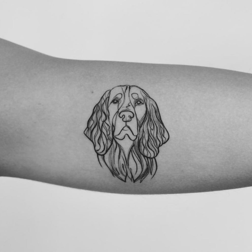 Custom Pet Tattoo Design