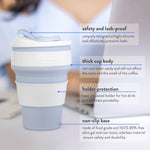 CUPMAZING™ - Silicone Eco-Friendly Folding Cups For Travelling
