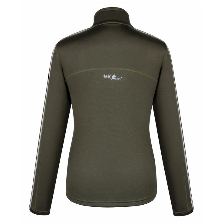Fair Play Half Turtleneck Winter Training Shirt BONNIE Olive