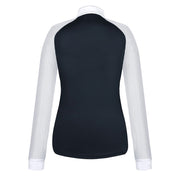 Fair Play Competition Shirt JUSTINE AIRY Long Sleeve White-Black