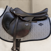Kentucky Horsewear Saddle Pad Softshell Jumping, Grey, Full