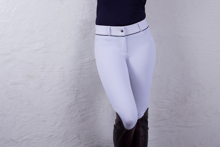 PS of Sweden Breeches, Louisa, White