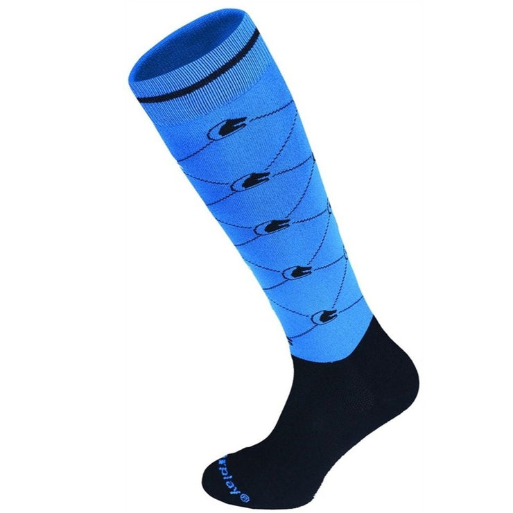 Fair Play Socks LOGO Blue-Black