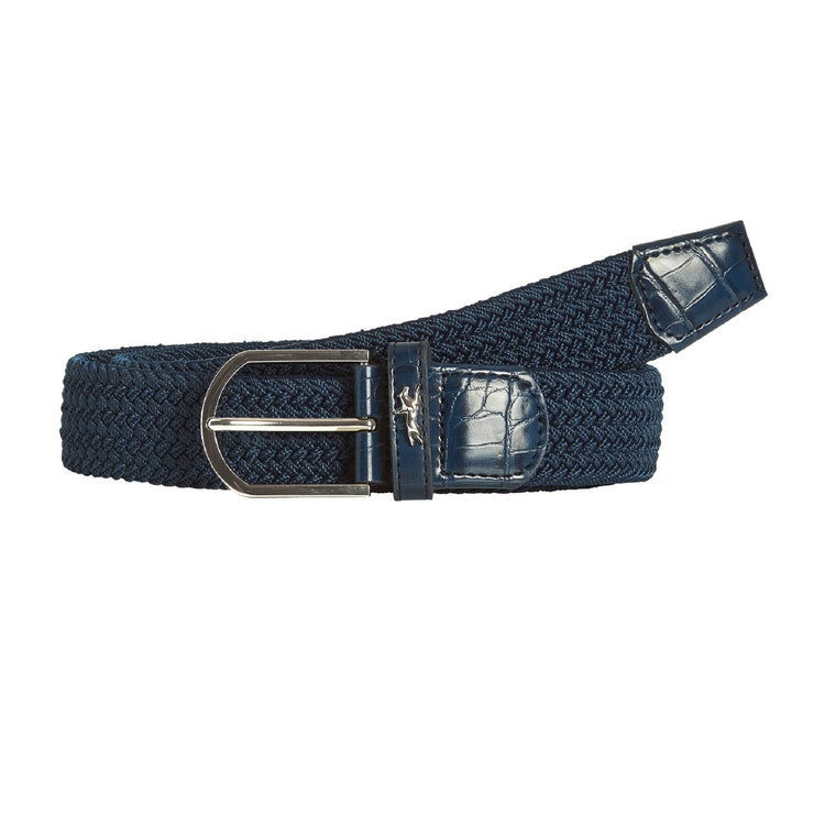 Schockemöhle Sporty Logo Belt, Dark Blue