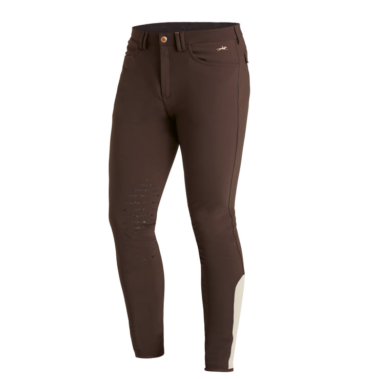 Schockemohle Phoenix Men's Breeches, Dark Brown