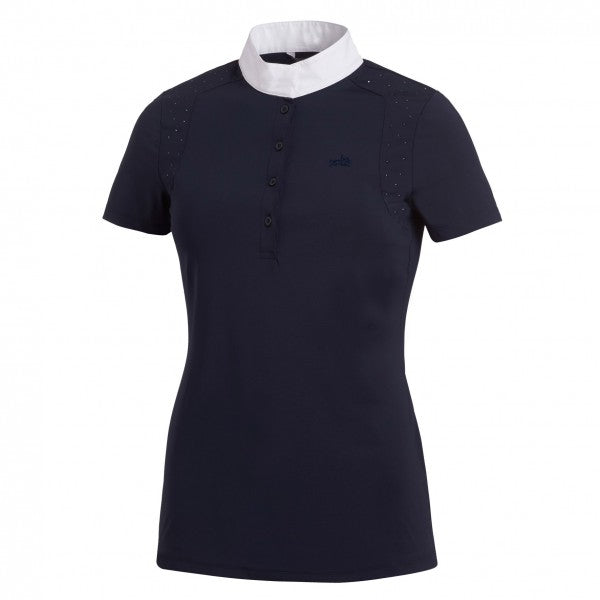 Schockemohle Meredith UV Ladies Show Shirt, Midnight Blue