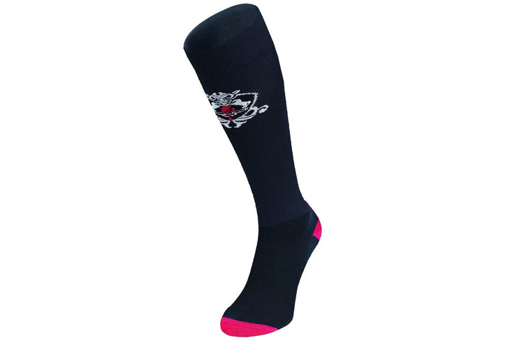 Fair Play Socks INES Black-Red
