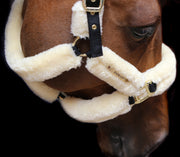 Kentucky Horsewear Sheepskin Shipping Halter