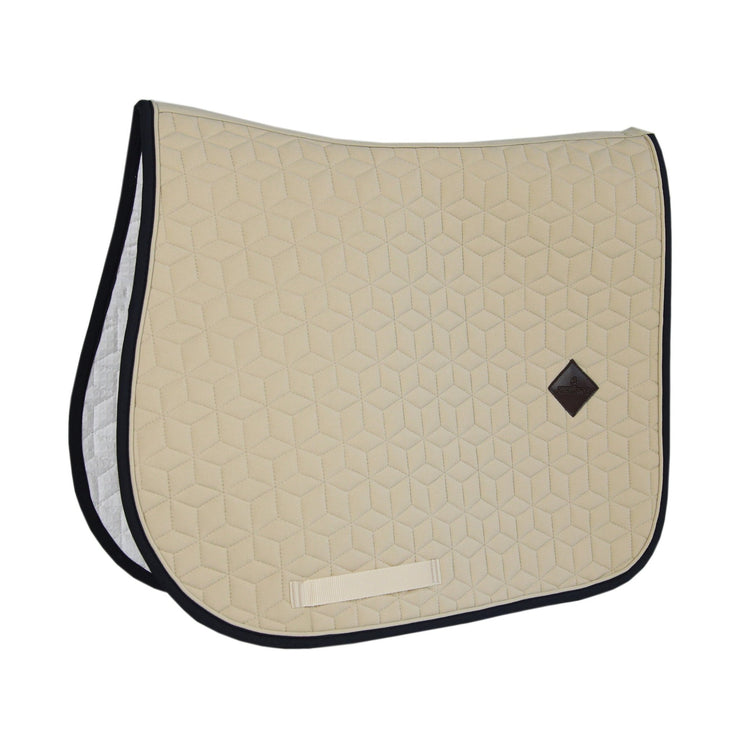 Kentucky Horsewear Saddle Pad Softshell Jumping, Beige, Full