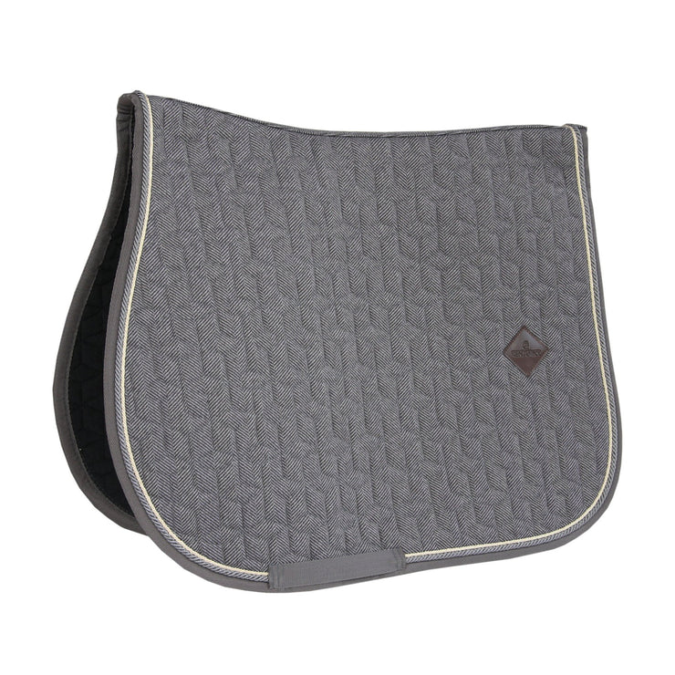 Kentucky Horsewear Saddle Pad Wool Jumping, Grey