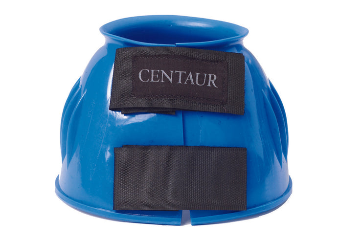 Centaur® PVC Ribbed Double Hook and Loop Bell Boots, Royal