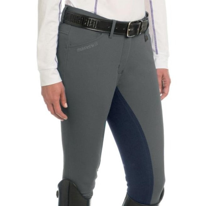 Romfh Sarafina Full Seat Breeches Gunmetal/Midnight Navy